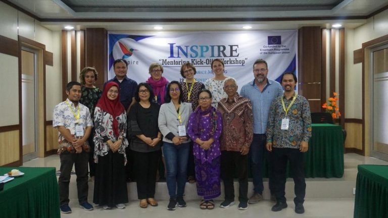 Participants of the INSPIRE 5th Project Meeting at Andalas University